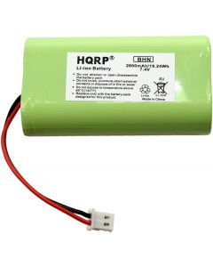 HQRP Battery compatible with SurgiTel Eclipse EHL65 EHL-65 Battery Pack