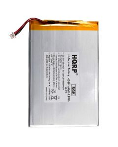 HQRP Battery fits RCA Galileo Pro 11.5&quot RCT6513W87 Tablet PT3090135 3.7v 4Ah 4000mAh + Coaster
