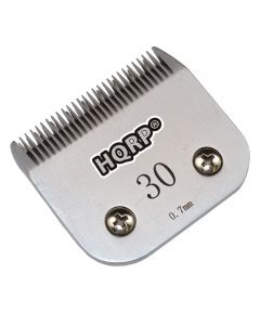 HQRP Size-30 Animal Clipper Blade for Andis 64071, AG, AGC, AGP, AGRC, AGCL, AGR+, AGRV, MBG, SMC Pet Grooming + HQRP Coaster