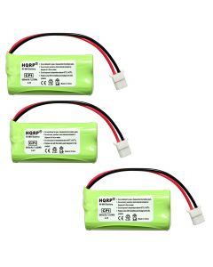HQRP Phone Battery 3-Pack for ATT LUCENT CL84202 CL84252 CL84342 CL84102 CL84152 Cordless Telephone + Coaster