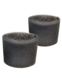 HQRP 2 Foam Filter Sleeves for Shop-Vac 84L200 84L250 84L250B 84L300 84L350 84L400 84L450 84M150 84M200 84M250 84M250B Wet Dry Vacuums