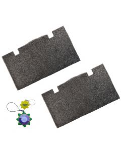 HQRP 2-pack Air Filter for Dometic 457915 459516 459136 620515 620525 620526 630515 630516 641915 641916 641935 651915 651916 Series Roof Top Air Conditioners & Heat Pumps + HQRP UV Meter