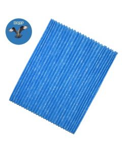 HQRP Air Purifier Filter (10 pcs) for DAIKIN Pleat Filter KAC017A4 / KAC017A4E / KAC006A4 Replacement + HQRP Coaster