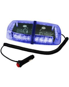 HQRP 24 LED Blue Strobe Safety Lighting Hazard Flashing Light for Car Truck Trailer + HQRP Coaster
