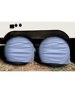 HQRP 2-Pack RV Camper Trailer Wheel Covers 24&quot -26.5&quot plus HQRP Coaster