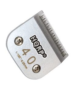 HQRP Size-40 Animal Clipper Blade for Oster A5, A-5 Turbo 2-Speed 078005-314-002, Golden A5, Turbo A5 Pet Grooming + HQRP Coaster