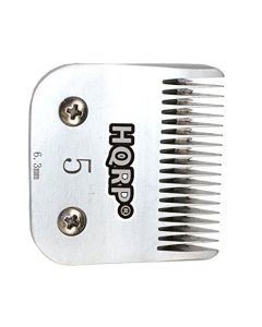 HQRP Size-5FC Animal Clipper Blade for Oster A6 A-6, Performax, Protege Single Speed 78704-020 Pet Grooming + HQRP Coaster
