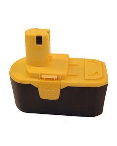 HQRP 18V 2200mAh Battery for Ryobi ONE+ BPP-1817M, BCP1817/2SM, BCP1817/2SM, BPP-1817/2, CCS-1801/DM + HQRP Coaster