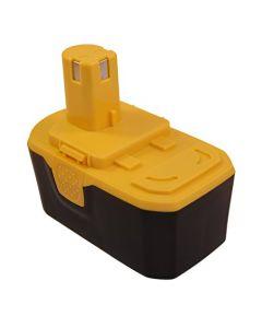 HQRP 18V 2200mAh Battery for Ryobi ONE+ CCS-1801 LM CDI-1802 CDI-1803M CID-1802M CID-1803L CID-1803M + HQRP Coaster