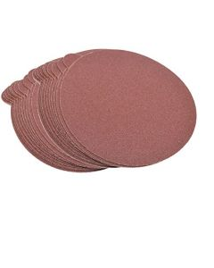 """HQRP 6-Inch 80-Grit 120-Grit 240-Grit Self Stick Sanding Discs for Craftsman Random Orbit Sander Sandpaper 6"""", 30 Pack, 10 Each of 3 Grits"""