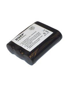 HQRP Phone Battery for Panasonic KX-TG2205W, KX-TG2217S, KX-TG2219B, KX-TG2227S, KX-TG2235, KX-TG2236S + HQRP Coaster