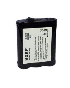 HQRP Phone Battery for Panasonic N4HKGMA0001, KX-TG5750, KX-TGA2705, KX-TGA290B, KX-TGA5100, KX-TGA5100M + HQRP Coaster