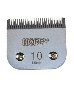 HQRP Clipper Blade Size-10 for Pet Grooming - Poodle / Terrier / Cocker Spaniel / Cat Clipping Trimming Hair Cutting All Styles + HQRP Coaster