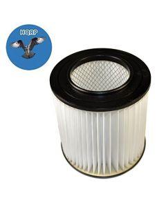 "HQRP 7"" Filter for Dirt Devil CV2200, CV1500, CV950, CV2000, CV2400, CV2250, CV2600, CV2650, CV1800, CV1850 H-P Central Vacuum Systems, 8106-01 Replacement + HQRP Coaster"