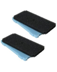 HQRP 2-Pack Pre-Filter Replacement for Beckett 7078510 Pond Pump Pre-Filter Box + HQRP Coaster