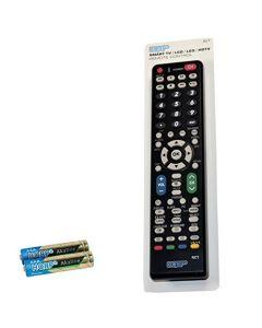 HQRP Remote Control for Sharp LC-42BT10U LC-42BX5M LCD LED HD TV Smart 1080p 3D Ultra 4K AQUOS + HQRP Coaster
