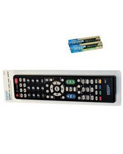 HQRP Remote Control for Sharp LC-45D40U LC-45GD4U LC-45GD5U LCD LED HD TV Smart 1080p 3D Ultra 4K AQUOS + HQRP Coaster