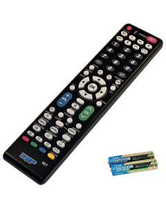 HQRP Remote Control for Sharp LC-45GD6U LC-45GX6U LC-46BD80U LC-46BD80UN LCD LED HD TV Smart 1080p 3D Ultra 4K AQUOS + HQRP Coaster