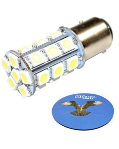 HQRP Taillight LED Bulb for John Deere AR48041 5103 5105 5205 5225 5303 5403 4010 4210 4310 4410 4510 4610 4710 Tractor AR48O41 + HQRP Coaster
