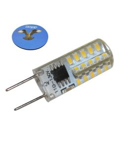 HQRP G8 Bi-Pin 40 LEDs Light Bulb SMD 3014 Cool White for GE over the stove microwave oven plus HQRP Coaster
