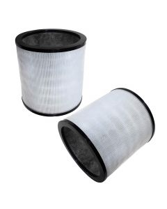 HQRP 2-pack Air Purifier Filter for Dyson Pure Cool Link Tower Air Purifiers TP02 TP03 & Pure Cool TP01 AM11 models compare to 968126-03 EVO Filter 2nd Generation plus HQRP Coaster