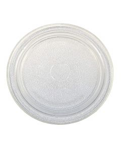 HQRP 10-3/4 inch Glass Turntable Tray for Sharp A034 NTNT-A034WRE NTNT-A011WRE0 NTNT-A034WRE0 NTNT-A011WRF0 NTNT-A034WRF0 NTNT-A130WREZ 504316 501560 MOS0649 Microwave Oven Cooking Plate + Coaster