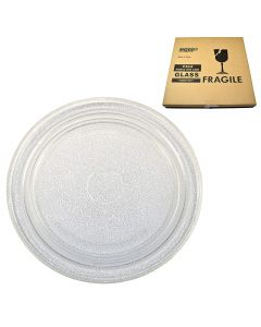 HQRP 10-3/4 inch Glass Turntable Tray for Sharp R1F80W R1M50 R1M50A R200LW R201 R4180WA R4180Y R4180YA R4275 R4280 R4280A R2A47 R2A52B R2A54 R2A54 R2A82B Microwave Oven Cooking Plate + HQRP Coaster