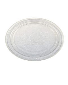 HQRP 10-3/4 inch Glass Turntable Tray for Sharp R120DG R120DR R140DB R1F80 R1F80BK R1F80R R201EW R201EWL R202 R202EW R240A R24ST R25ST R290N R290NS R2A43B Microwave Oven Cooking Plate + HQRP Coaster