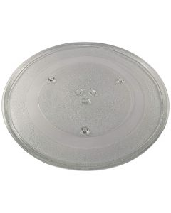 HQRP 14-1 8 inch Glass Turntable Tray for GE WB49X10141 JES1451DN1BB JES1451DN1WW JES1453SR1SS JES1456BJ01 JES1456BJ02 JES1456BJ03 JES1456BJ04 JES1456BJ05 Microwave Oven Cooking Plate 360mm