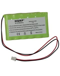 HQRP Battery for Ademco Honeywell LYNX Voice, LYNXR, LYNXR24, LYNXR24-SP Security System + HQRP Coaster