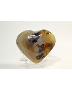 Reserved for MEREDITH - 67mm Dendrite Carnelian Agate Heart - MADAGASCAR