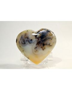 Reserved for MEREDITH - 69mm Dendrite Carnelian Agate Heart - MADAGASCAR