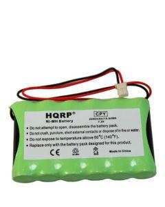 HQRP Battery compatible with Ademco Honeywell LYNX LYNXRCHKITHC LYNXRCHKIT-HC K5109 781410403291 55026089 WALYNX-RCHB-SC WALYNXRCHBSC LYNXRCHKIT-SC Replacement plus HQRP Coaster