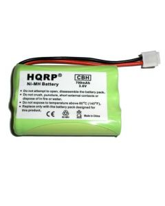 HQRP Phone Battery for VTech 6897, DS4121-3, DS4121-4, DS4122-3, i6717, i6725 Cordless Telephone plus Coaster