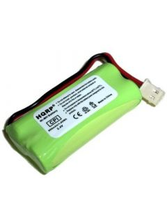 HQRP Phone Battery compatible with AT&T LUCENT EL52201, EL52251, EL52301, EL52351, EL52401, EL52110, EL52200, EL52210, EL52250, EL52300, EL52350 Cordless Telephone plus Coaster