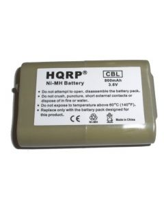 HQRP Cordless Phone Battery for AT&T / Lucent model 102, part number 89-1324-00-00 / 8913240000 Replacement plus Coaster
