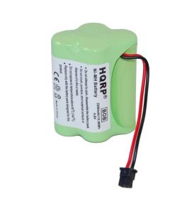 HQRP 2200mAh Battery for Uniden SPORTCAT SC-180 SC180 SC-200 SC200 Scanner plus HQRP Coaster