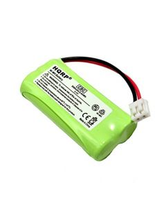 HQRP Cordless Telephone / Phone Battery for VTECH BT183348 BT283348 89-1326-00-00 / 89-1300-00-00 / 8913260000 / 89-1300-01-00 / 89-1330-01-00 Replacement plus Coaster
