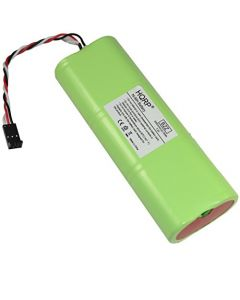 HQRP Battery for SuperBuddy, Super-Buddy 21 29 Satellite Signal Meter Applied Instruments 742-00014 + Coaster