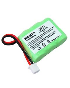 HQRP Battery compatible with Dogtra BP-20R BP20R GP 20AAAAH3BMX 35AAAH3BMX fits 175NCP, 180NCP, 200NCP, 202NCP, 210NCP, NCP-175 NCP-180 NCP-200 NCP-202 NCP-210 Remote Controlled Dog Training Collar Receiver plus Coaster