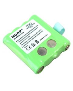 HQRP Rechargeable Battery Pack for Motorola KEBT-072 KEBT-072-A KEBT-072-B M370H1A BNH370 SX700 SX700R SX709R Two-Way Radio plus Coaster