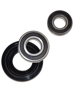 HQRP Bearing and Seal Kit for Inglis AP3970398 IFW7300WW00 Front Load Washer Tub + HQRP Coaster
