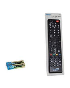 HQRP Remote Control for Panasonic TC-P65S2 TC-P65S60 TC-P65ST30 TC-P65ST50 TC-P65ST60 TC-P65V10 TX-32LX780M LCD LED HD TV Smart 1080p 3D Ultra 4K Plasma + HQRP Coaster