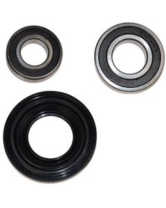 HQRP Bearing and Seal Kit for Whirlpool Duet Sport WFW9050XW03 WFW9150WW00 WFW9150WW01 WFW9150WW02 WFW9151YW00 WFW9250WW00 WFW9050XW00 WFW9050XW02 Front Load Washer Tub + HQRP Coaster
