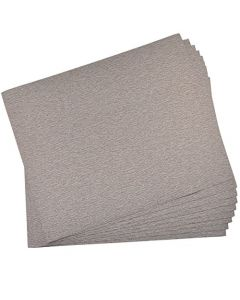 "HQRP 9"" x 11"" Aluminum Oxide Sandpaper 120 Grit, 10 Pack"