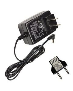 HQRP Wall AC Power Adapter for Canon Elura 60 65 70 80 85 90 100 Camcorder - (incl. USA Plug & Euro Adapter)