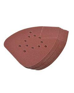 HQRP 120-Grit Hook & Loop Sand Paper for Black & Decker BDAMX Mouse BDEMS600 MS800B Matrix Detail Sander, 12 Pack