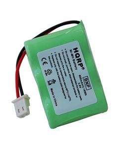 HQRP Battery for Eton / GRUNDIG FR200-BAT, 3-2/3AA-WNMH, FR200, FR200G, FR250, FR300, FR350, FR370, FR400, FR405, FR600, FR600B Radio, Shortwave, Solarlink + HQRP Coaster
