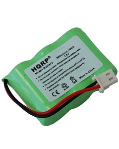 HQRP Battery for Kaito BT500 Voyager KA500 KA550 KA600 Emergency AM/FM/SW Weather Alert Radio BT-500 KA-500 KA-550 KA-600 + HQRP Coaster
