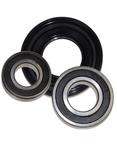 HQRP Bearing and Seal Kit for Maytag AP3970398 MAH22PDAWW0 MAH22PDAWW1 MAH22PDAXW0 MAH22PRAWW0 MAH22PRAWW1 MHWE200XW00 MHWZ400TQ03 Front Load Washer Tub + HQRP Coaster